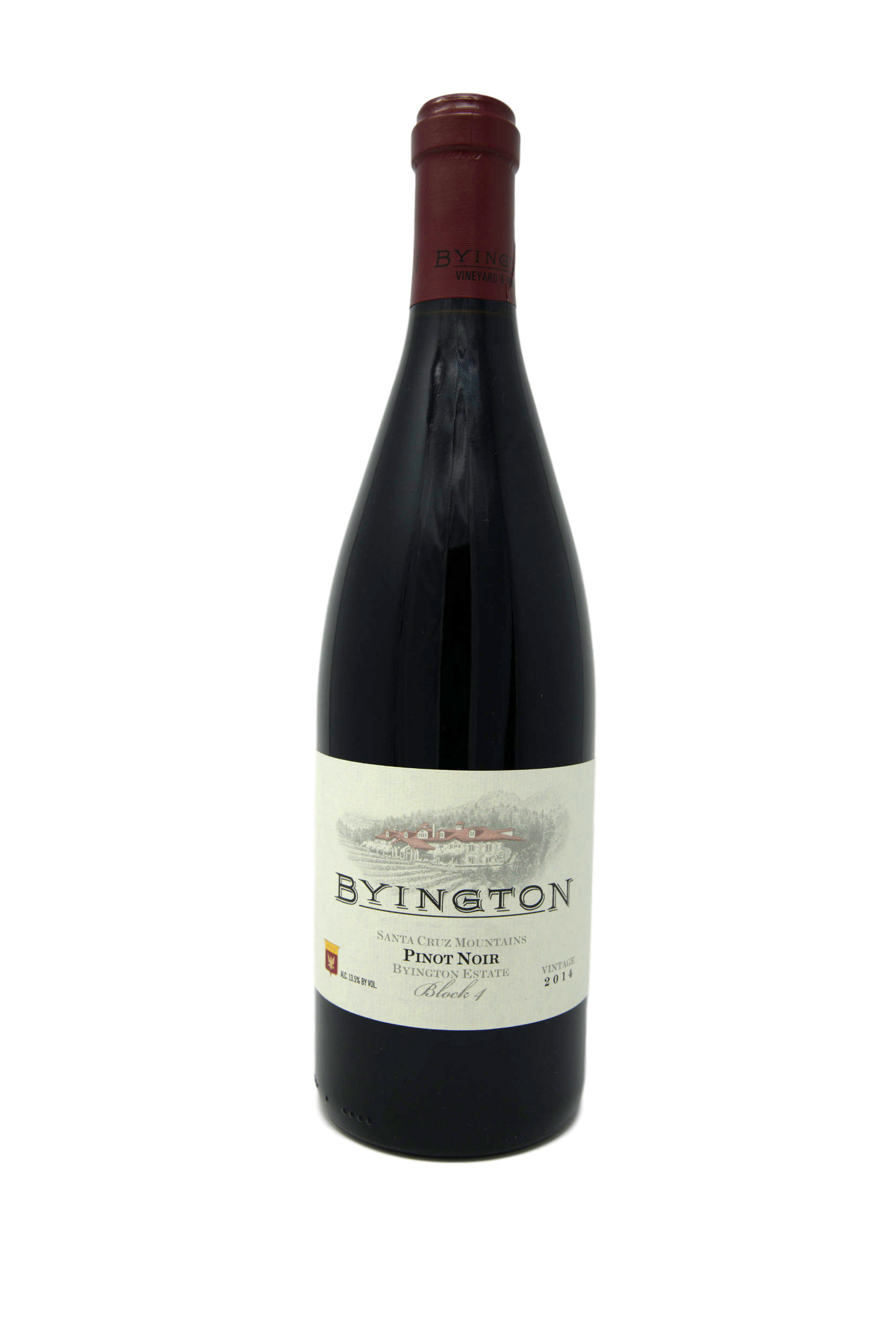 2014 BYINGTON PINOT NOIR ESTATE BLOCK 4 - Byington Winery