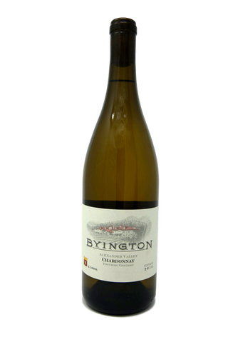 2014 BYINGTON CHARDONNAY TIN CROSS VINEYARD - Byington Winery
