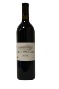 2014 BYINGTON MERLOT TIN CROSS VINEYARD - Byington Winery