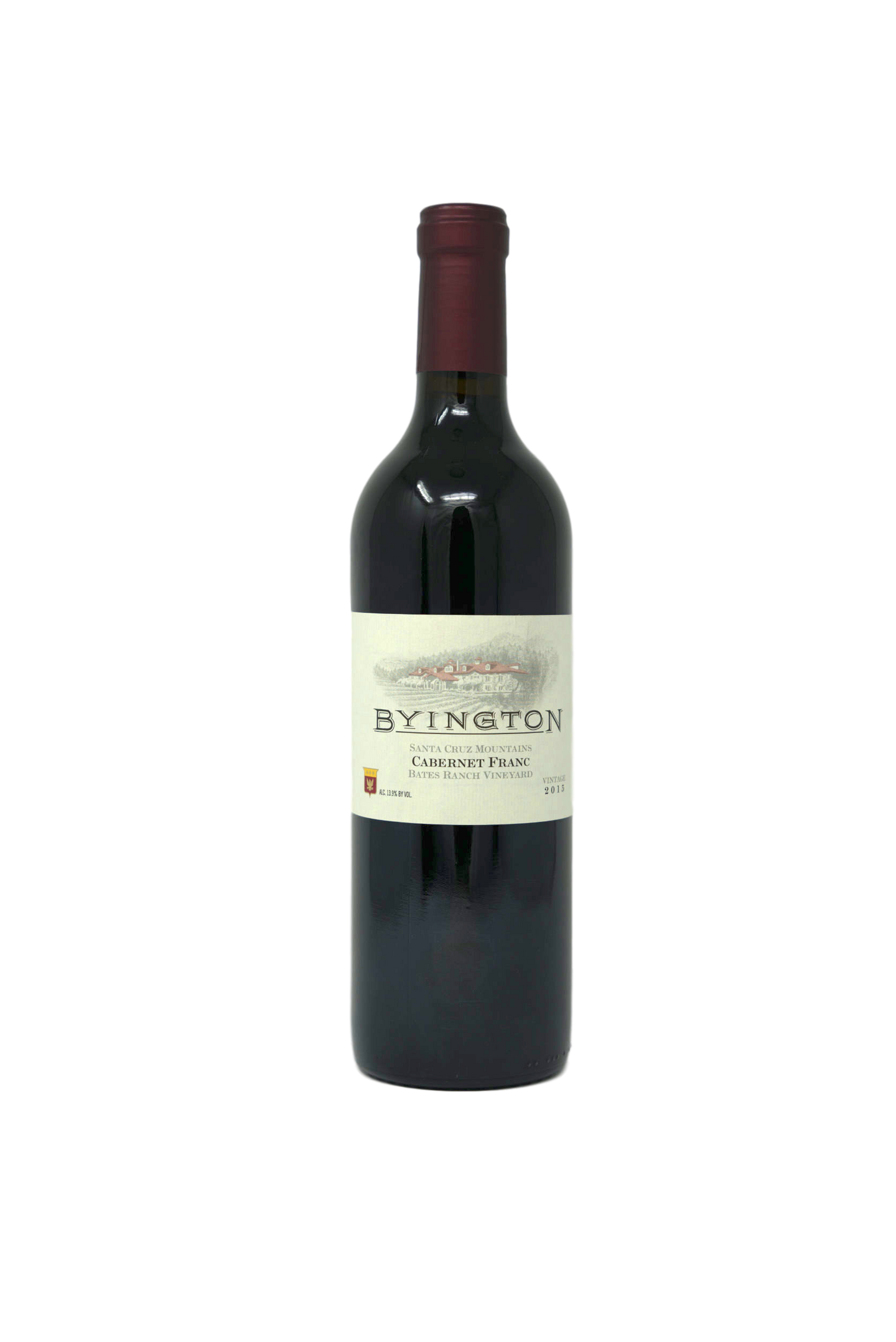 2015 BYINGTON CABERNET FRANC BATES RANCH - Byington Winery