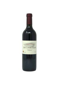 2015 BYINGTON BARBERA AMADOR VALLEY VINEYARD - Byington Winery