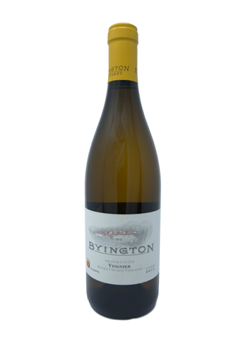 2015 BYINGTON VIOGNIER HONEY CHURCH VINEYARD - Byington Winery