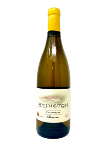 2016 BYINGTON CHARDONNAY RESERVE TIN CROSS ESTATE VINEYARD - Byington Winery