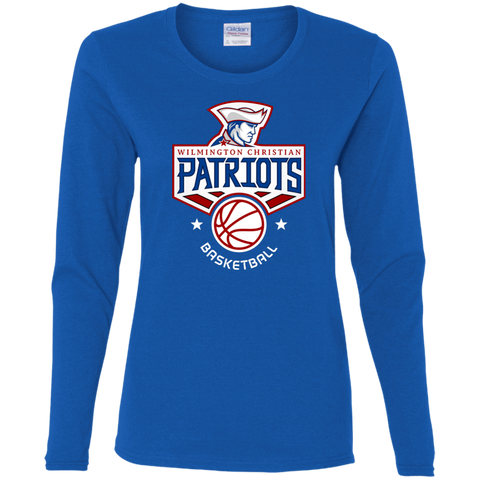 Basketball- Ladies' Cotton LS Tee