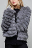 Open Front Faux Fur Jacket - A CONCEPT