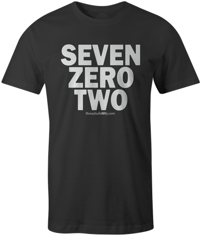 Seven Zero Two Tee - Threads of eNVy