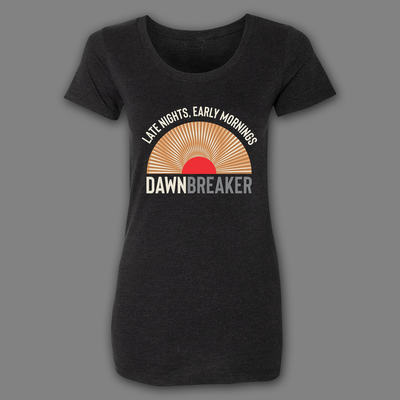 7Five Brewing Co Dawn Breaker Sunrise Ladies Tee - Threads of eNVy
