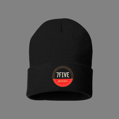 7FIVE BREWING CIRCLE LOGO BEANIE - Threads of eNVy