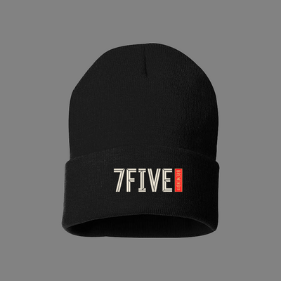 7FIVE BREWING LOGO BEANIE - Threads of eNVy