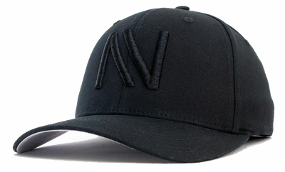 Black on Black NV FlexFit Hat - Threads of eNVy