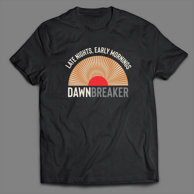 7Five Brewing Co Dawn Breaker Sunrise Tee - Threads of eNVy