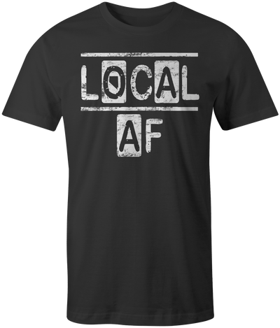 Local AF t-shirt - Threads of eNVy