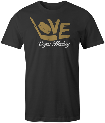 Youth Love Vegas Hockey Tee - Threads of eNVy