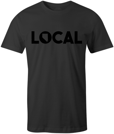 Black Local Tee - Threads of eNVy