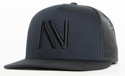 Black on Black NV Mesh SnapBack Hat - Threads of eNVy