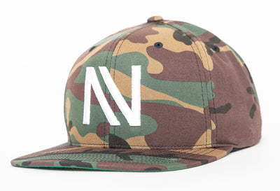 Camo NV Snapback Hat - Threads of eNVy