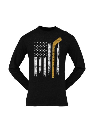Hockey Flag Longsleeve - Threads of eNVy