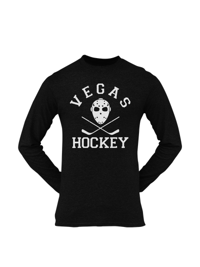 Vegas Hockey Mask Longsleeve - Threads of eNVy