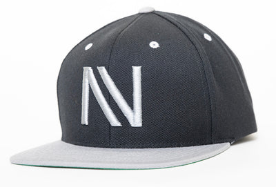 Silver and Black NV SnapBack Hat - Threads of eNVy