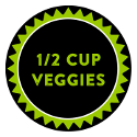 Half Cup of Veggies