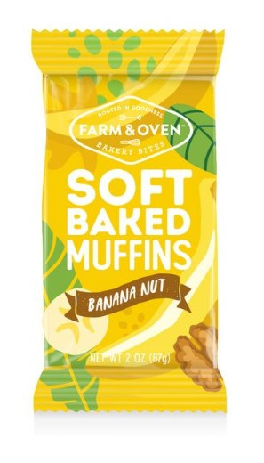 Banana Nut Soft-Baked Muffins