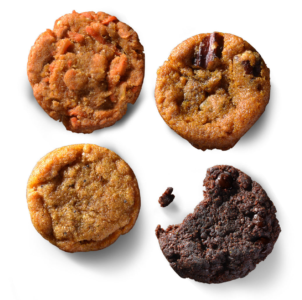 Sampler Pack: Try Each Flavor of Farm&Oven Bites of Brownies, Muffins, Cake and Tea Bread!