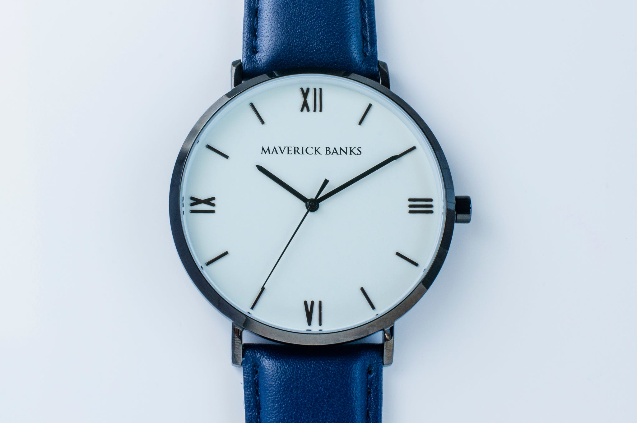 s men blue products watches black banks white maverick watch