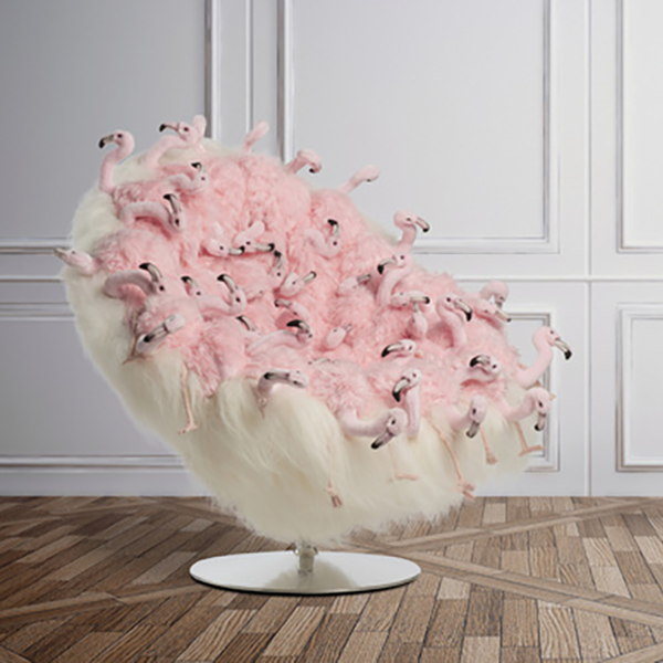 Forever Flamingos Chair