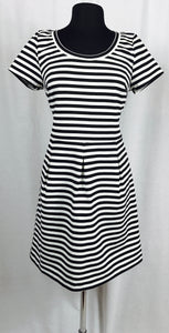 Horizontal Black and white stripe
