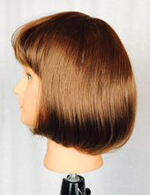 Brown bob with bangs