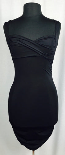 Bombshell bodycon dress, black