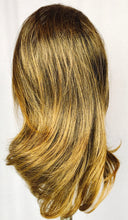 Chestnut brown with light highlights