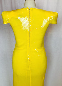 Electric Banana gown