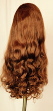 Chestnut, long, loose curl, Lace-front