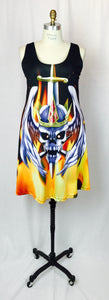 Skull Queen Rocker dress