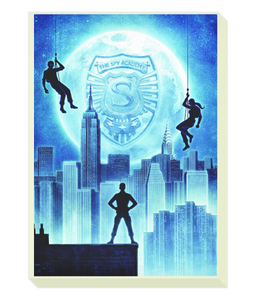 Portrait Canvas SPY ACADEMY POSTER 2 p4534