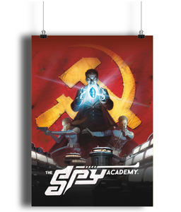 Portrait Poster The Spy Academy P3
