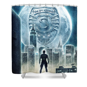 The Spy Academy - Shower Curtain