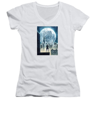 The Spy Academy - Women's V-Neck T-Shirt