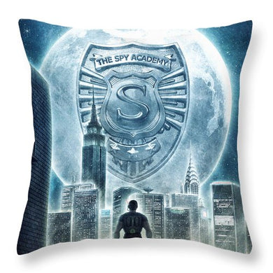 The Spy Academy - Throw Pillow
