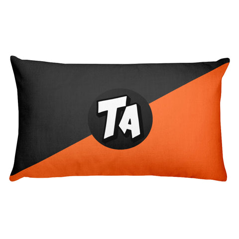 TA Signature Gradient Rectangular Pillow