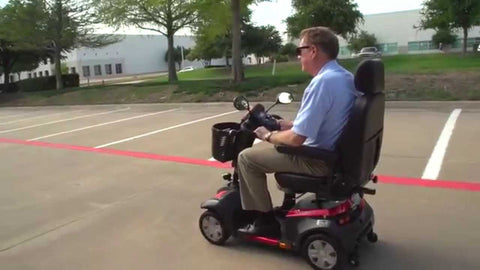 4-Wheel Mobility Scooter