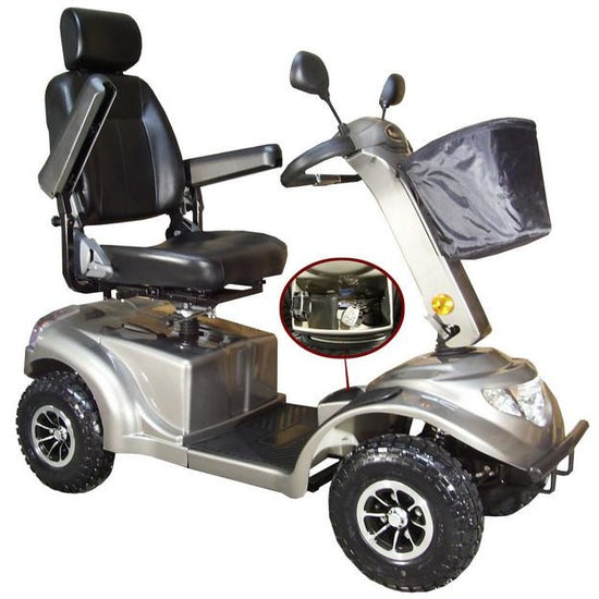 Luxury Scooters, Power Chairs, and Electric Scooters for Seniors