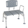 Heavy Duty Bariatric Plastic Seat Transfer Bench for bath safety