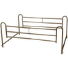 Home Bed Style Adjustable Length Bed Rails Includes King Size Crossbar Extension
