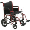 Bariatric Heavy Duty Wheelchair With Swing Away Footrest