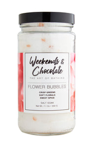Flower Bubbles Salt Soak