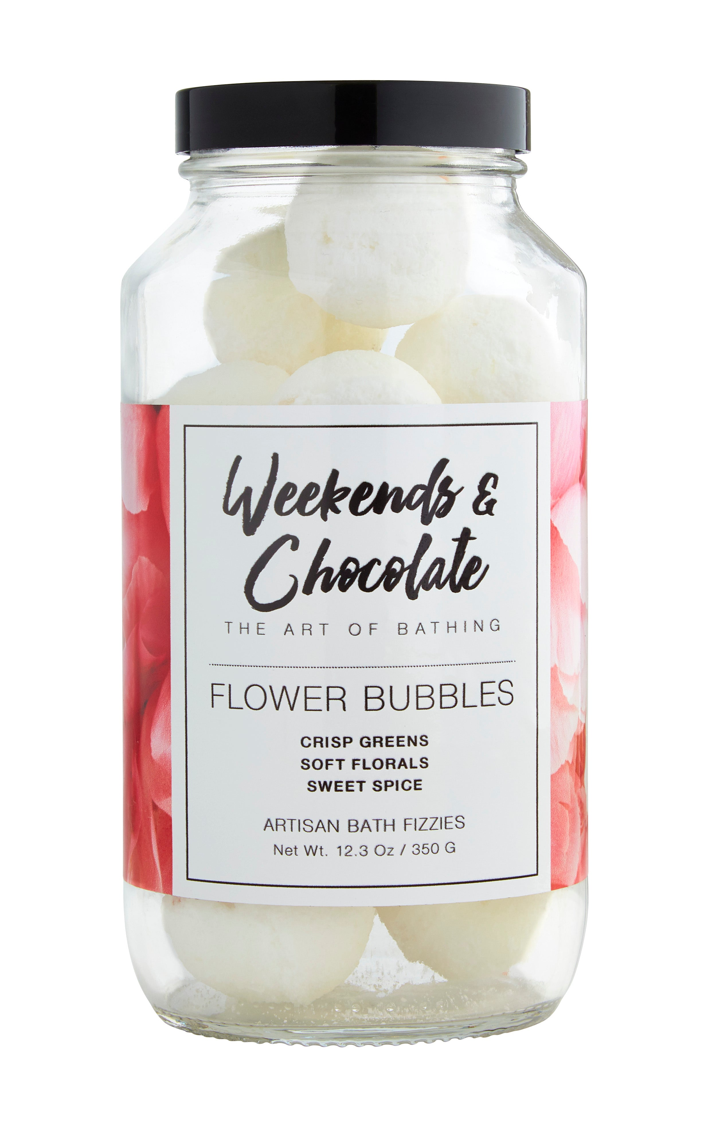 Flower Bubbles Bath Fizzies