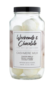 Cashmere Milk Bath Fizzies