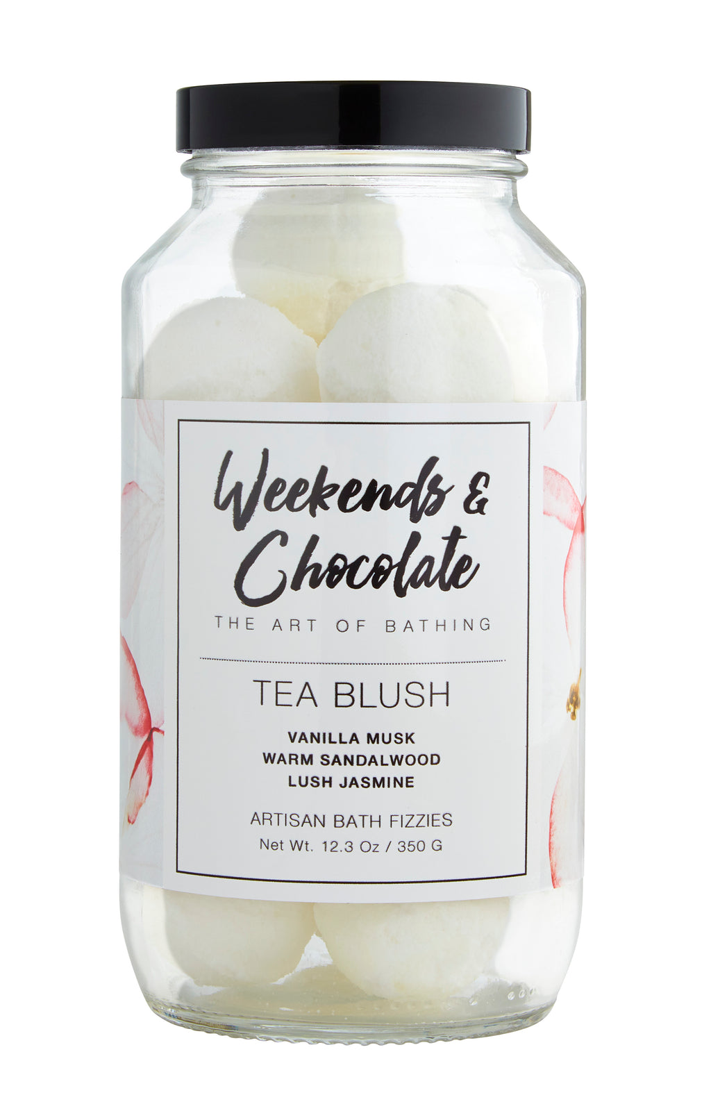 Tea Blush Bath Fizzies